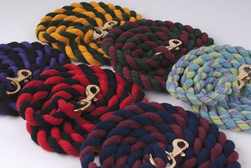 Rhinegold Horse Lead Rope 7ft long also good for dogs Red//Navy