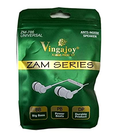 c73b4e10352 Shiv Mobile World Vingajoy Zam Series ZM-786 Universal Earphone-White Price:  Buy Shiv Mobile World Vingajoy Zam Series ZM-786 Universal Earphone-White  ...