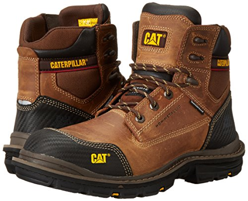 Caterpillar Men's Fabricate 6 Inch Tough Waterproof Comp Toe Work Boot, Brown, 14 M US by Caterpillar (Image #6)