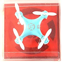 Mini Remote-controlled Rechargeable RC Quadcopter Helicopter Rotatable Motor Arm Drone 4 Channels 6 Axis Gyro 2.4 Ghz Blue
