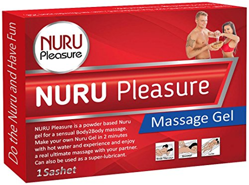 Nuru Pleasure Gel in Easy-to-Make Powder Form | Super Smooth