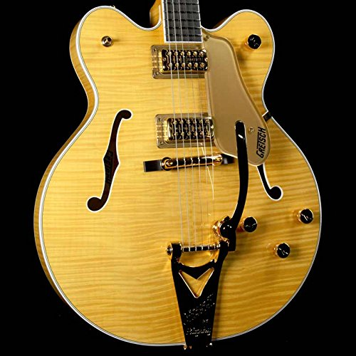 Gretsch G6122TFM Players Edition Country Gentleman Electric Guitar with String-Thru Bigsby, 22 Frets,