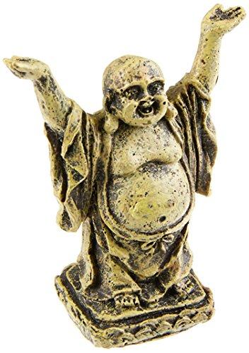 Pagoda Aquarium Ornament - Penn Plax (RR563) Mini Standing Buddha Ornament By Penn Plax