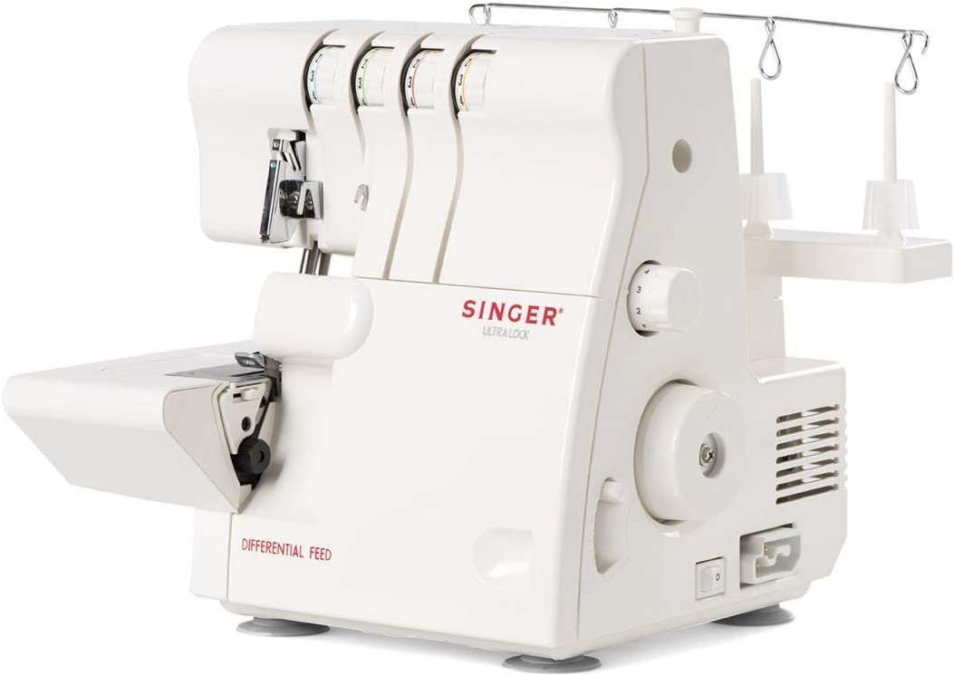 Singer 14SH654 - Remalladora, 1300 ppm, Color Blanco: Amazon.es: Hogar