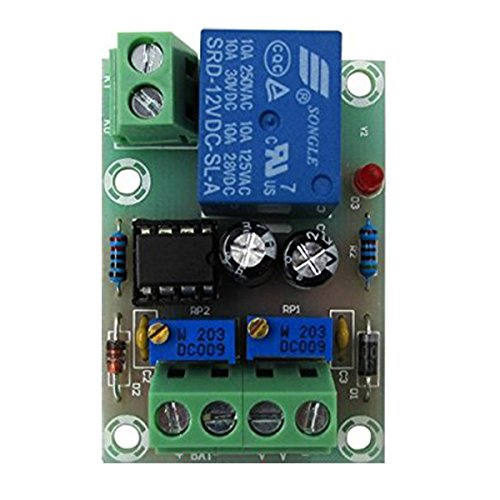 Xh-m601 Battery Charging Control Board 12v Intelligent Charger Power Control Panel Automatic Charging Power Integrated Circuits