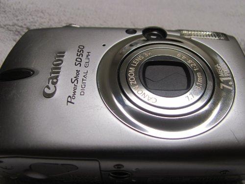 Canon PowerShot SD550 7.1 MP Digital Camera - Silver