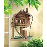 Koehlerhomedecor Outdoor Garden Accent Tree House Bird House Feeder