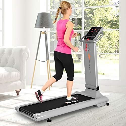 Goplus 1.5HP Electric Folding Treadmill Portable Motorized Running Machine Home Gym Cardio Fitness w/App (Silver) by Goplus (Image #5)