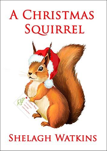 Christmas Squirrel.A Christmas Squirrel