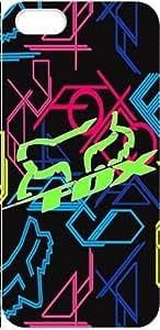 Custom Design Fox Racing Wild Color 3D iPhone 5 Full Case