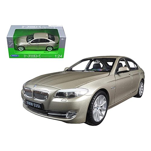 BMW 2010 (F10) 535i 5 Series Gold 1/24 by Welly 24026