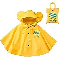 Gudotra Chaqueta de Lluvia para Niños Unisex Impermeable Capa Lluvia para Niños