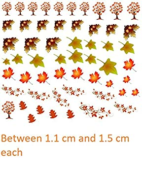 Autumn Fall Season Collection (Autumn Fall Nail Art Decals) Kaz Creations part 2