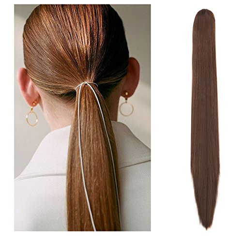 FUT Womens Jaw Claw Ponytail Hair Extensions 18