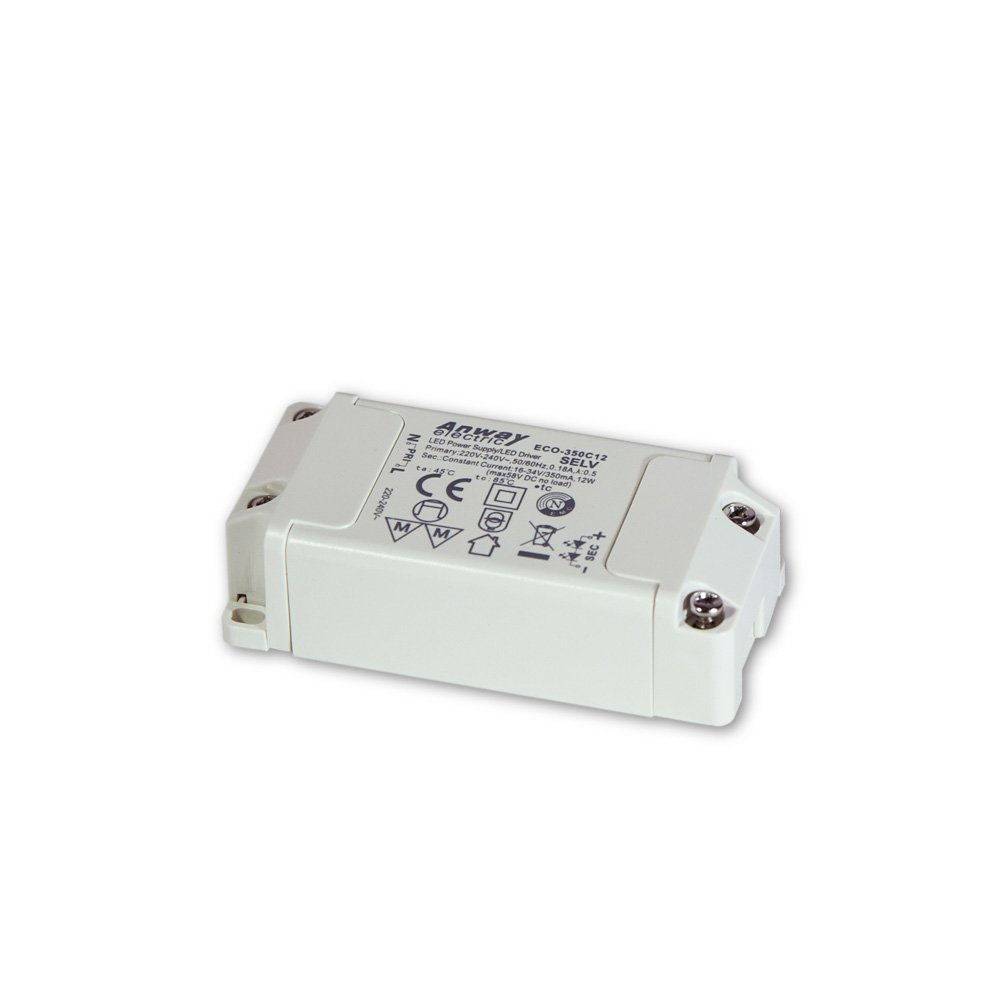 00012172 - Anway LED Treiber ECO-350C12 12W/350mA/16-34V