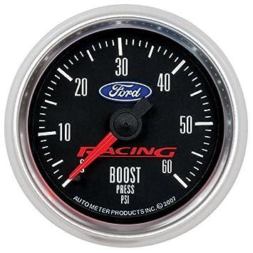 Auto Meter 880106 Ford Racing Series Mechanical Boost Gauge