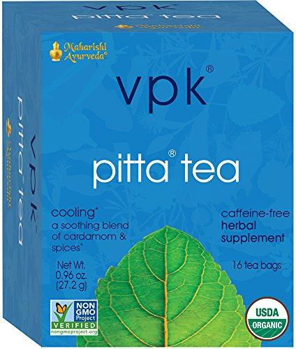 Maharishi Ayurveda Organic Soothing Pitta Herbal Tea 16 Tea Bags, .96 oz (27.2 g)
