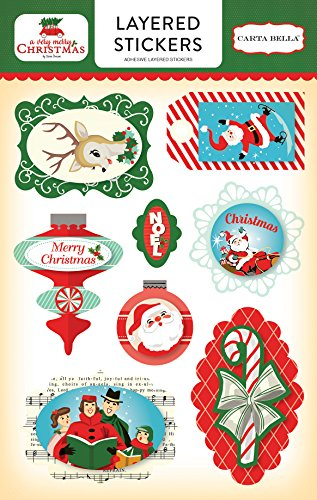Carta Bella Paper Company A Very A Very Merry Christmas Layered -