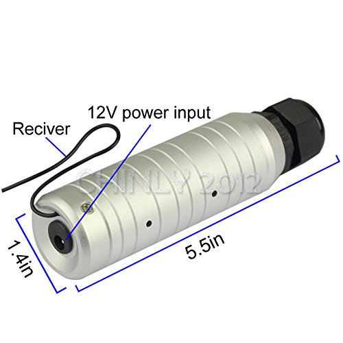 Car use DC12V 6W RGB LED Plastic Fiber Optic Star Ceiling Kit Light 100pcs 0.03in 6.5ft +18key Remote Optical Fiber Lights Engine by CHINLY (Image #4)