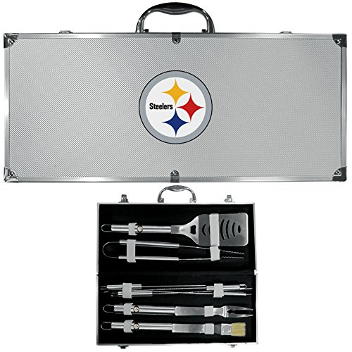 UPC 754603001666, NFL Pittsburgh Steelers 8-Piece Barbecue Set w/Case
