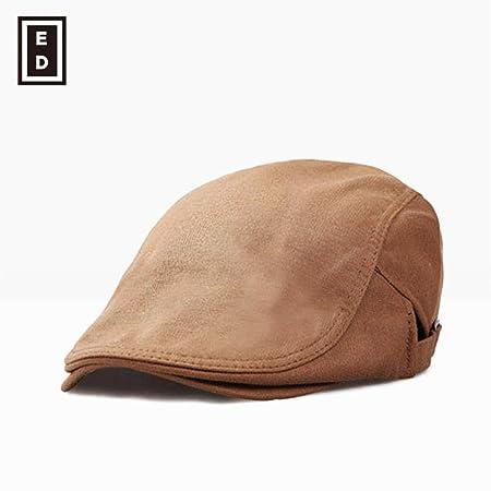 sdssup Sombrero Gorra Boina Macho Hembra marrón Ajustable: Amazon ...