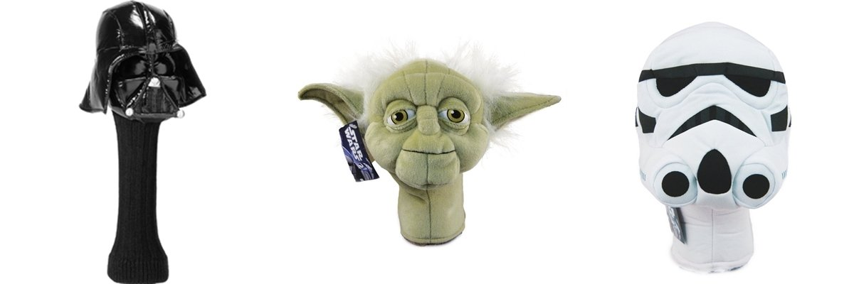 Star Wars Series 460cc & (2) Hybrids Headcover Combo Set 8 by Comic Images (Image #1)