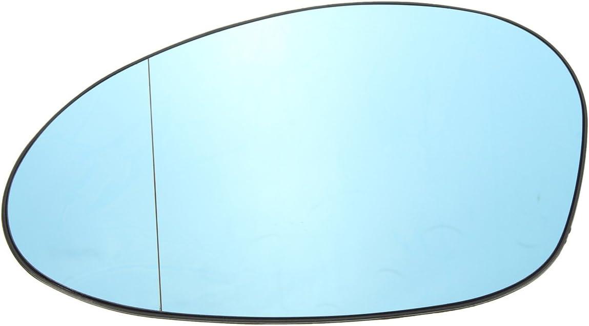 Viviance Bleu Teint/é /Électrique Gauche Verre Miroir DAile pour BM-W M3 E46 Coupe 2001-06