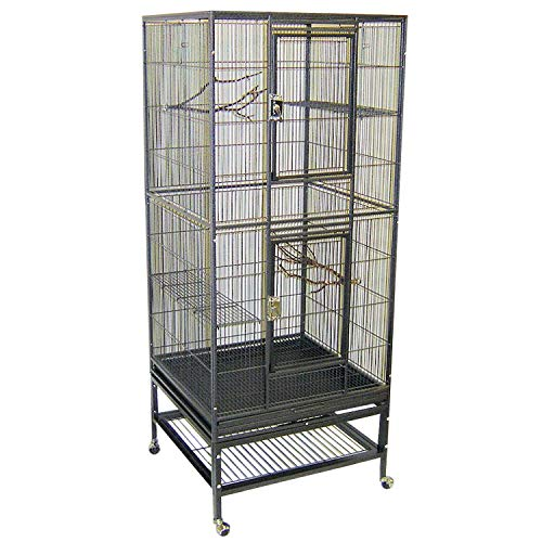 """Exotic Nutrition Madagascar Cage - 60"""" Tall Cage for Sugar Gliders, Squirrels, Marmosets"""