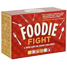 Foodie Fight: A Trivia Game With Gameboard and Cards