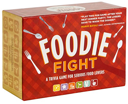 Foodie Fight: A Trivia Game With Gameboard and ()