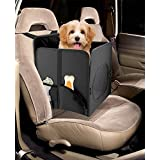 Pet Booster Seat, Finelife Car Small Portable Travel Pet Seat Booster