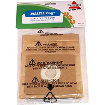 Amazon Com Bissell Zing Canister Vacuum Replacement Bags