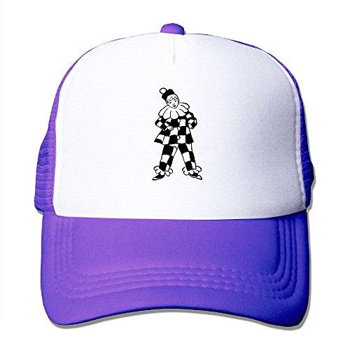 NONGFU Halequin Figure Big Foam Trucker Baseball Cap Mesh Back Adjustable Cap for $<!--$6.49-->