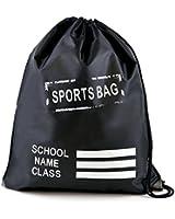 Kids Plain Drawstring Sports Gym Pump RuckSuck PE Bag