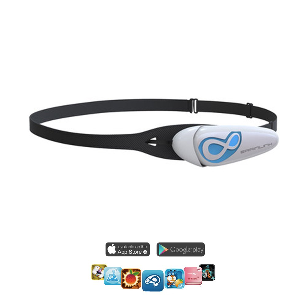 BrainLink Lite Pro Portable Smart Brainwave Sensor headband,Professional Training Of The Brain's Nervous And Relaxation,20 Apps, Suitable For Children,Yoga,Meditation,Poor self-control(Last Version)