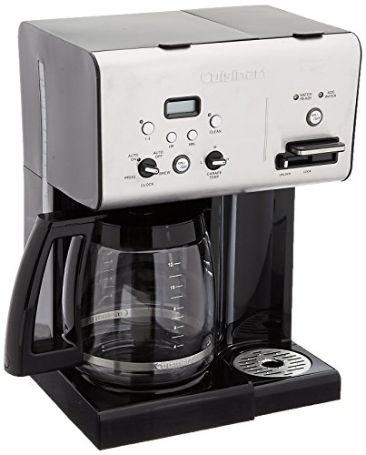 Cuisinart CHW-12FR Coffeemakers, Brushed Stainless/Black