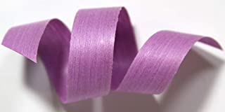 "product image for 100% Biodegradable Natural Ribbon | 33 Solid Colors | Ribbon for Crafts | Cotton Curling Ribbon | Holiday Ribbon | Wrapping Ribbon | Eco-Friendly Ribbon (Orchid, 3/16"" x 500 Yards)"