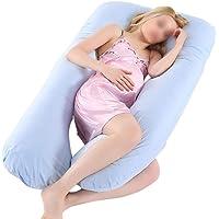 Poonkuos Mutterschaft Riesen Kissen Schlafen - Multifunktions Großes U schwangeres Kissen Schlafkissen Mutterschaft Stützkissen Weich