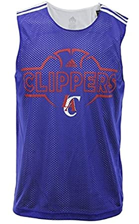 Los Angeles Clippers NBA Hoops – Camiseta de Tirantes para Hombre, Color Azul, Azul