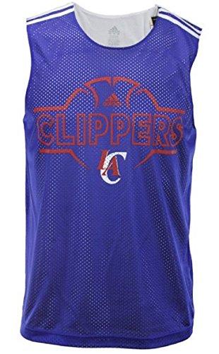(Los Angeles Clippers NBA Mens Hoops Tank Top, Royal Blue )