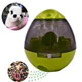 Pet Bunny Food Ball Toy Feeder for Dog Cat Rabbit Chinchillas Small and medium Animals (Green, Ball)