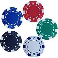 Kids Mandi™ 11.5 GMS Round Ceramic Poker Chips Set (100)
