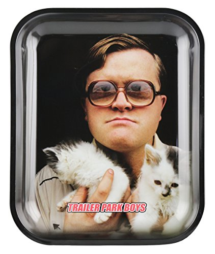 Famous Brands Trailer Park Boys Rolling Tray - Hand Kitty/Assorted Sizes (Large)