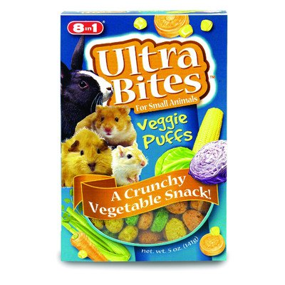 Small Animal Puffs Treat [Set of 3] by eCOTRITION