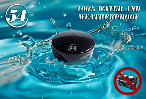 LandAirSea 54 Waterproof and Magnetic Real Time GPS Tracker for Personal Vehicle and Asset Location Tracking