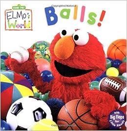 Amazon Com Elmo S World Balls Sesame Street Sesame