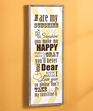 ABC Wooden Typography Wall Art - 24\