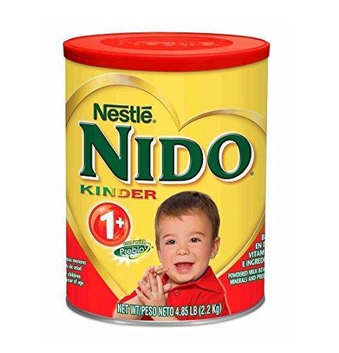 Nestle Nido Kinder 1+ Toddler Formula (4.85 lbs.) (Whole Milk Or Formula For 1 Year Old)