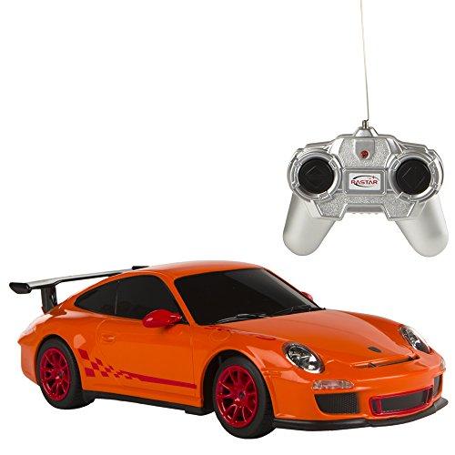 Rastar-Coche-teledirigido-124-Porsche-GT3-RS-naranjaColorbaby-85039