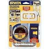 IRWIN Wooden Door Lock Installation Kit, 3111001